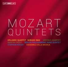 Wolfgang Amadeus Mozart (1756-1791): Streichquintette Nr.1-6, 4 CDs