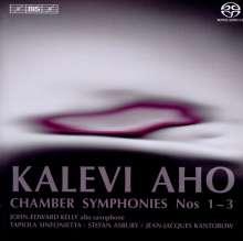 Kalevi Aho (geb. 1949): Kammersymphonien Nr.1-3, Super Audio CD