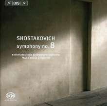 Dmitri Schostakowitsch (1906-1975): Symphonie Nr.8, Super Audio CD