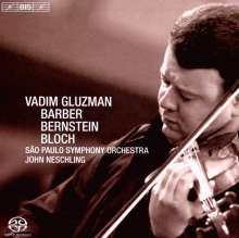 Samuel Barber (1910-1981): Violinkonzert op.14, Super Audio CD