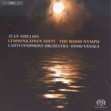 Jean Sibelius (1865-1957): Lemminkäinen-Legenden op.22 Nr.1-4, Super Audio CD
