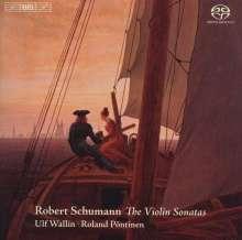 Robert Schumann (1810-1856): Sonaten für Violine & Klavier Nr.1-3, Super Audio CD