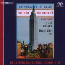 George Gershwin (1898-1937): Klavierkonzert in F, Super Audio CD