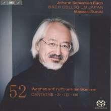 Johann Sebastian Bach (1685-1750): Kantaten Vol.52 (BIS-Edition), Super Audio CD
