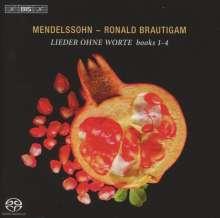Felix Mendelssohn Bartholdy (1809-1847): Lieder ohne Worte (Ausz.), Super Audio CD