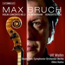 Max Bruch (1838-1920): Violinkonzert Nr.2, Super Audio CD