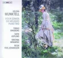 Helena Munktell (1852-1919): Violinsonate Es-Dur op.21, Super Audio CD