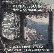 Felix Mendelssohn Bartholdy (1809-1847): Klavierkonzerte Nr.1 & 2, Super Audio CD