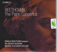 Ludwig van Beethoven (1770-1827): Klavierkonzerte Nr.1-5, 2 Super Audio CDs