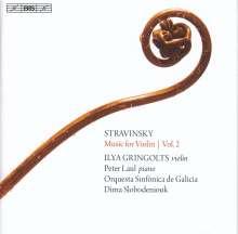 Igor Strawinsky (1882-1971): Werke für Violine Vol.2, Super Audio CD