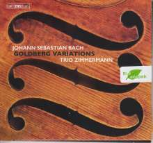 Johann Sebastian Bach (1685-1750): Goldberg-Variationen BWV 988 für Streichtrio, Super Audio CD