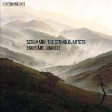 Robert Schumann (1810-1856): Streichquartette Nr.1-3, SACD