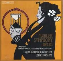 Gustav Mahler (1860-1911): Symphonie Nr.10 (Fassung für Kammerorchester von John Storgårds), Super Audio CD