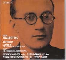 Nikos Skalkottas (1904-1949): Sinfonietta B-Dur, Super Audio CD