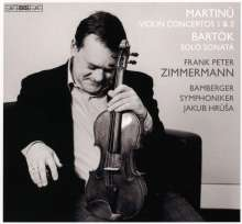 Bohuslav Martinu (1890-1959): Violinkonzerte Nr.1 & 2, Super Audio CD