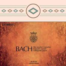 Johann Sebastian Bach (1685-1750): Sämtliche weltliche Kantaten (BIS-SACD-Edition), 10 Super Audio CDs