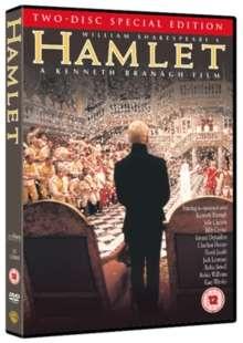 Hamlet (1996) (UK Import mit deutscher Tonspur), 2 DVDs