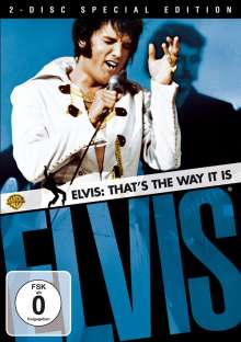 Elvis - That's the Way it is (OmU) (Special Edition), 2 DVDs