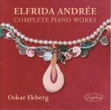 Elfrida Andree (1841-1929): Klavierwerke, CD