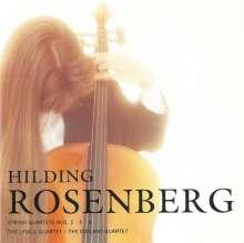 Hilding Rosenberg (1892-1985): Streichquartette Nr. 2,5,8, CD