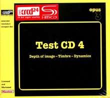 Test CD 4 - Depth Of Image/Timbre/Dynamics (SHM-XRCD), XRCD