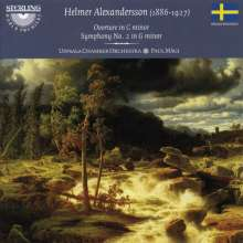 Helmer Alexandersson (1886-1927): Symphonie Nr.2 g-moll, CD