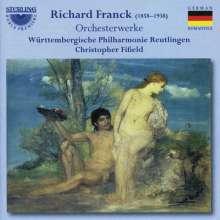 Richard Franck (1858-1938): Orchesterwerke, CD