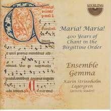 Ensemble Gemma - Maria! Maria!, CD
