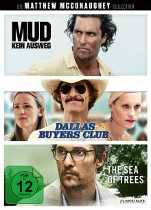 Matthew McConaughey Collection, 3 DVDs