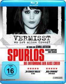 Spurlos - Die Entführung der Alice Creed (Blu-ray), Blu-ray Disc