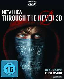 Metallica - Through The Never (OmU) (3D & 2D Blu-ray in Dolby Atmos), 2 Blu-ray Discs