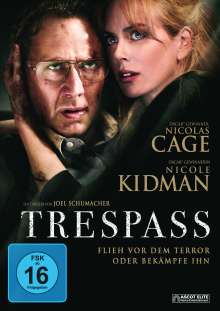 Trespass (2011), DVD