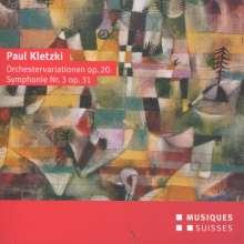 Paul Kletzki (1900-1973): Symphonie Nr.3, CD