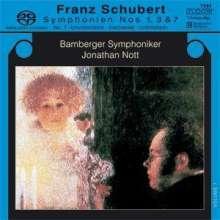 Franz Schubert (1797-1828): Symphonien Nr.1,3,7, Super Audio CD