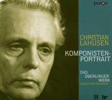 Christian Lahusen (1886-1975): Ein Schöpfungsgesang, CD