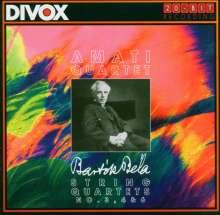 Bela Bartok (1881-1945): Streichquartette Nr.3,4,6, CD