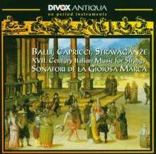 Balli,Capricci,Stravaganze, CD