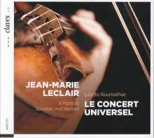 Jean Marie Leclair (1697-1764): Sonaten für Violine & Bc Heft 4 Nr.3 & 5, CD