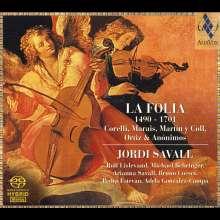 La Folia-Variationen 1490-1701, Super Audio CD