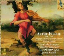 Altre Follie 1500-1750, Super Audio CD