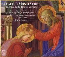 Claudio Monteverdi (1567-1643): Vespro della beata vergine, 2 Super Audio CDs