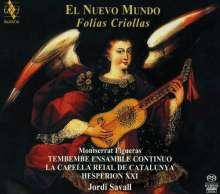 El Nuevo Mundo - Folias Criollas, Super Audio CD