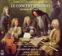 Le Concert Spirituel - Au temps de Louis XV, Super Audio CD