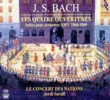 Johann Sebastian Bach (1685-1750): Orchestersuiten Nr.1-4, 2 Super Audio CDs