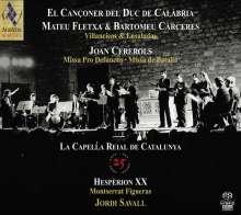 La Capella Reial de Catalunya - 25 Years, 4 Super Audio CDs