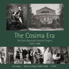 Richard Wagner (1813-1883): The Cosima Era - The Early Bayreuth Festival Singers 1876-1906, 12 CDs