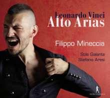 Leonardo Vinci (1690-1730): Alto Arias, CD