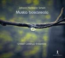 """Johann Hermann Schein (1586-1630): Musica boscareccia - """"Wald-Liederlein auff Italian-Villanellische Invention"""" (1621/1626/1628), CD"""