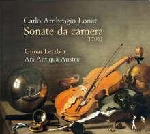 Carlo Ambrogio Lonati (1645-1703): Sonate da Camera Nr.1,2,3,6 (Salzburg 1701), CD