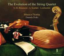 Musica Fiorita - The Evolution of the String Quartet, CD